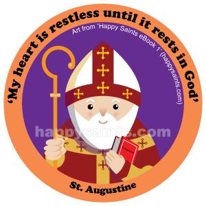St. Augustine (354.