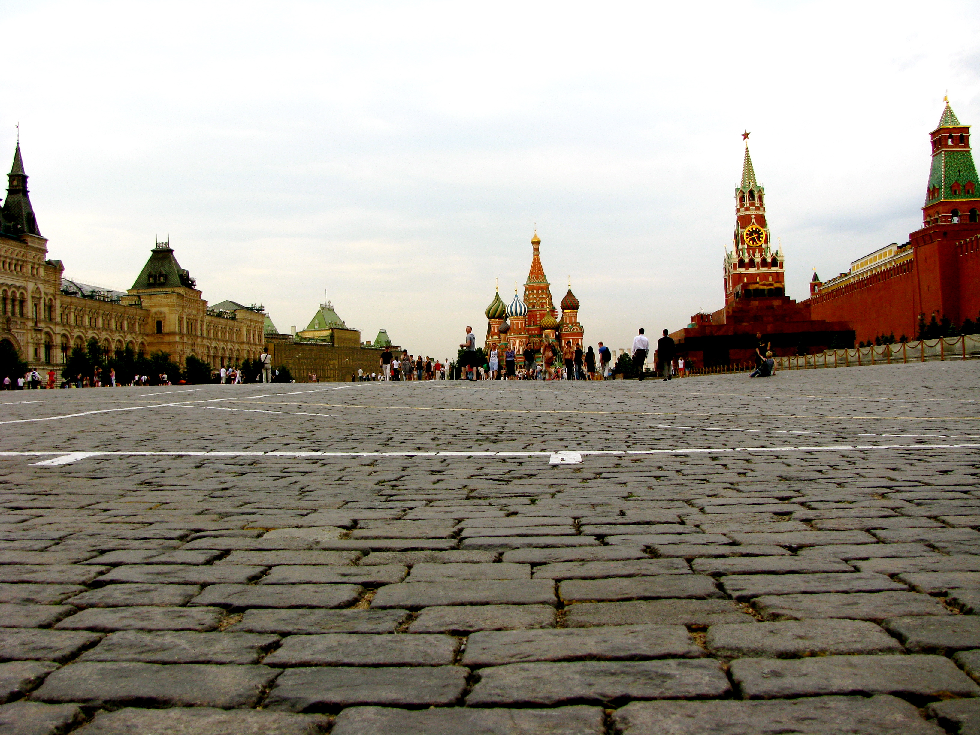First Impressions of Red Square in Moscow.