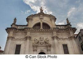 Stock Photography of croatia, dubrovnik, st. blaise church.