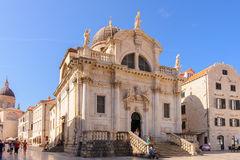 St. Blasius Church, City Of Dubrovnik, Croatia Stock Photo.
