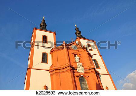 Stock Photo of Church Saint Blasius in Fulda, Germany k2028593.