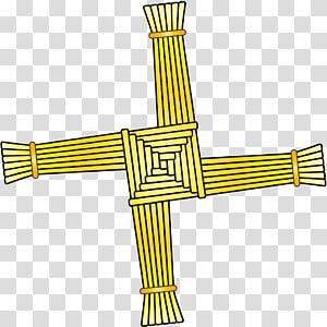 Brigids Cross transparent background PNG cliparts free.