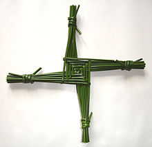 Brigid\'s cross.