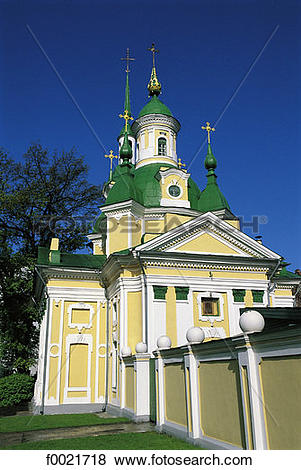Pictures of Estonia, Parnu, St Catherine's church f0021718.
