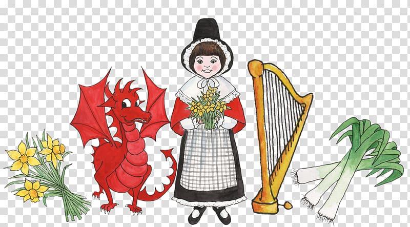 St Davids Saint David\\\'s Day Welsh Dragon March 1 Greeting.