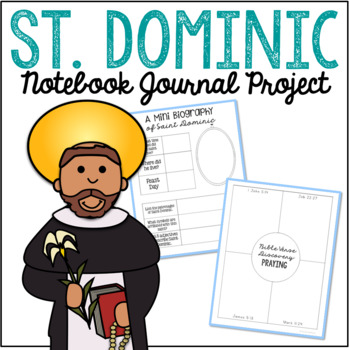 Saint Dominic Notebook Journal Project, Ca #290806.