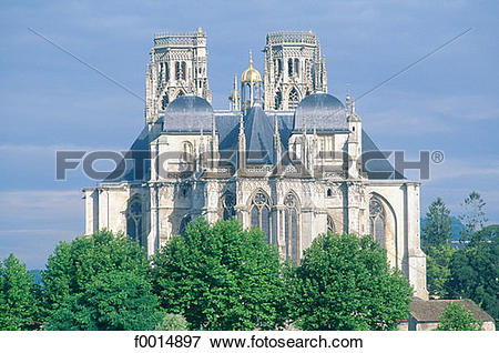 Picture of France, Lorraine, St Etienne, Toul cathedral f0014897.