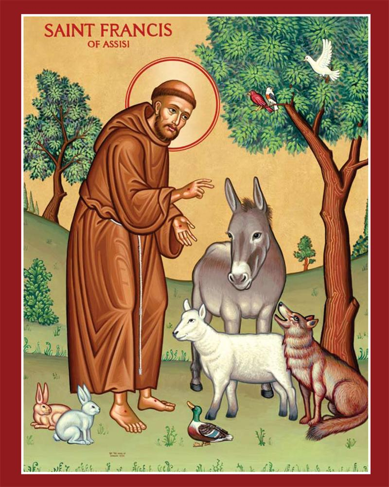 Free clipart st francis assisi.