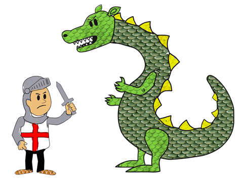 St george clipart.