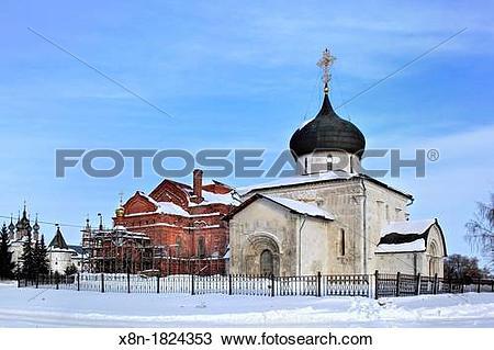 Stock Photo of Saint George Cathedral 1234, Yuryev Polsky.