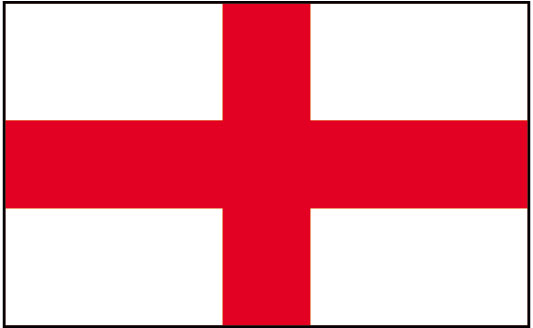 St Georges Flag Clipart.