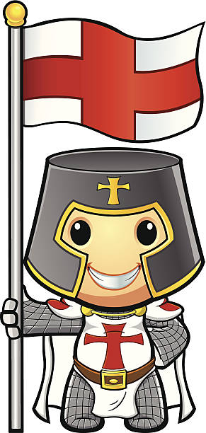 English St George Flag Clip Art, Vector Images & Illustrations.