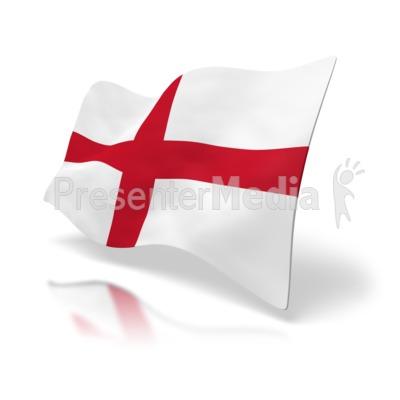 England Flag St. George's Cross.