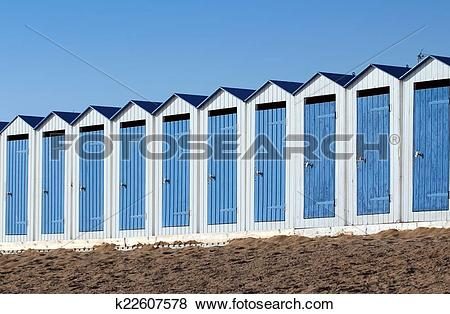 Pictures of Beach cabins (Saint.