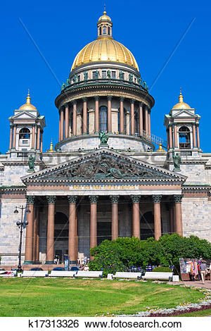 Stock Images of Saint Isaac Cathedral k17313326.