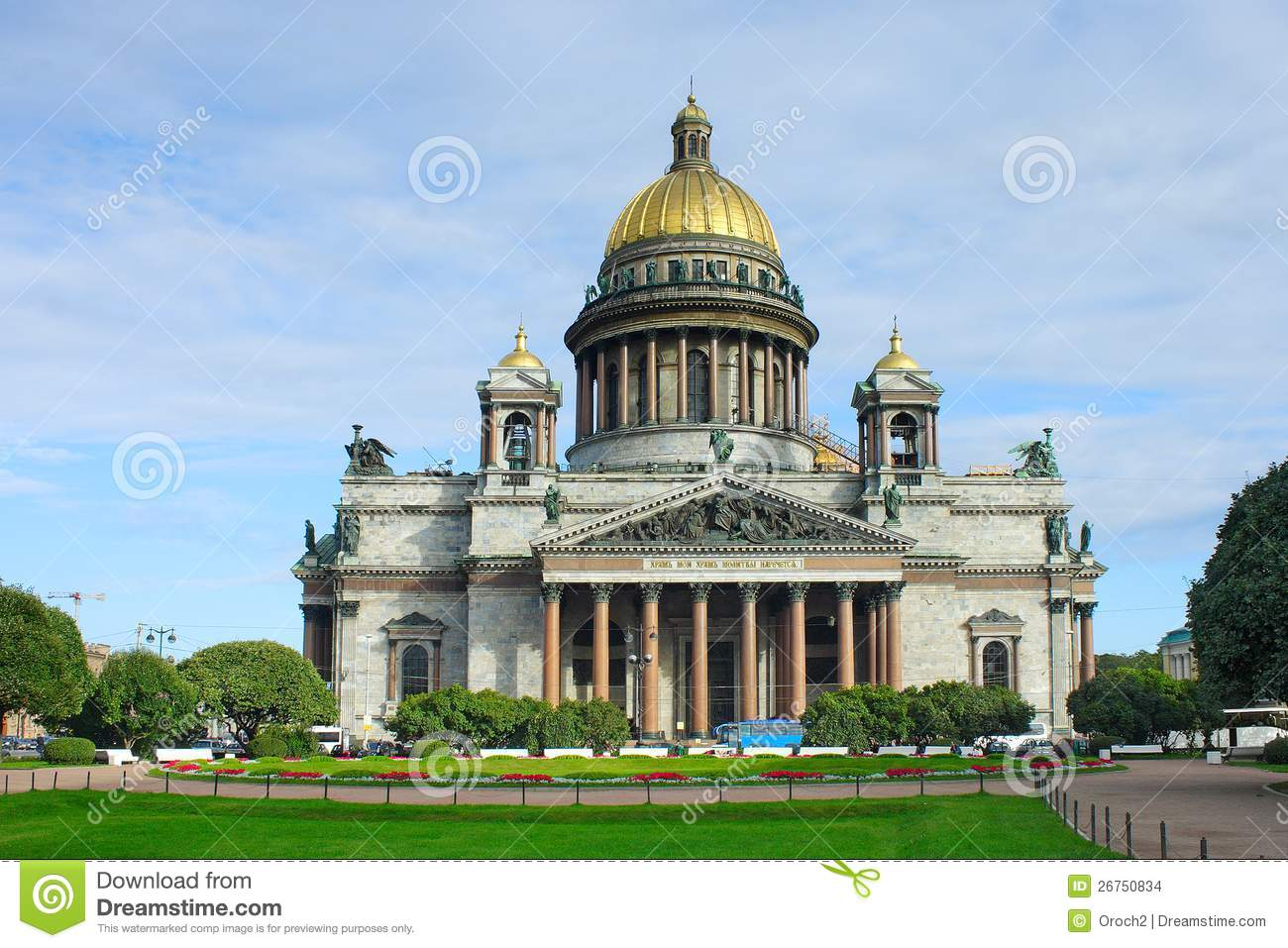 St. Petersburg, St. Isaac's Cathedral Stock Images.
