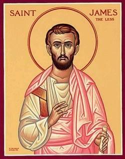 a year of prayer: 365 Rosaries: May 3: Saint James the Less.