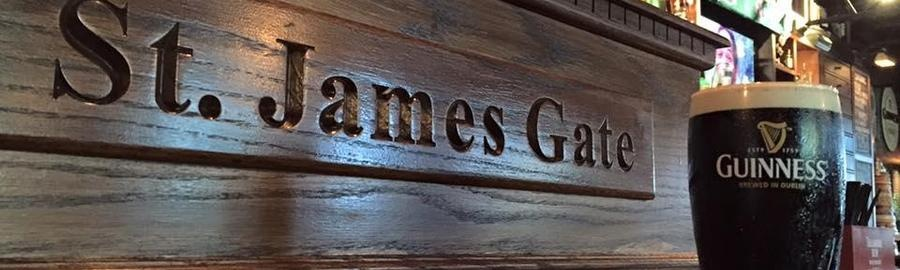 St. James Gate Where to Eat and Drink Charleston.