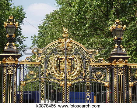 Stock Images of St James Park Gate k0878466.