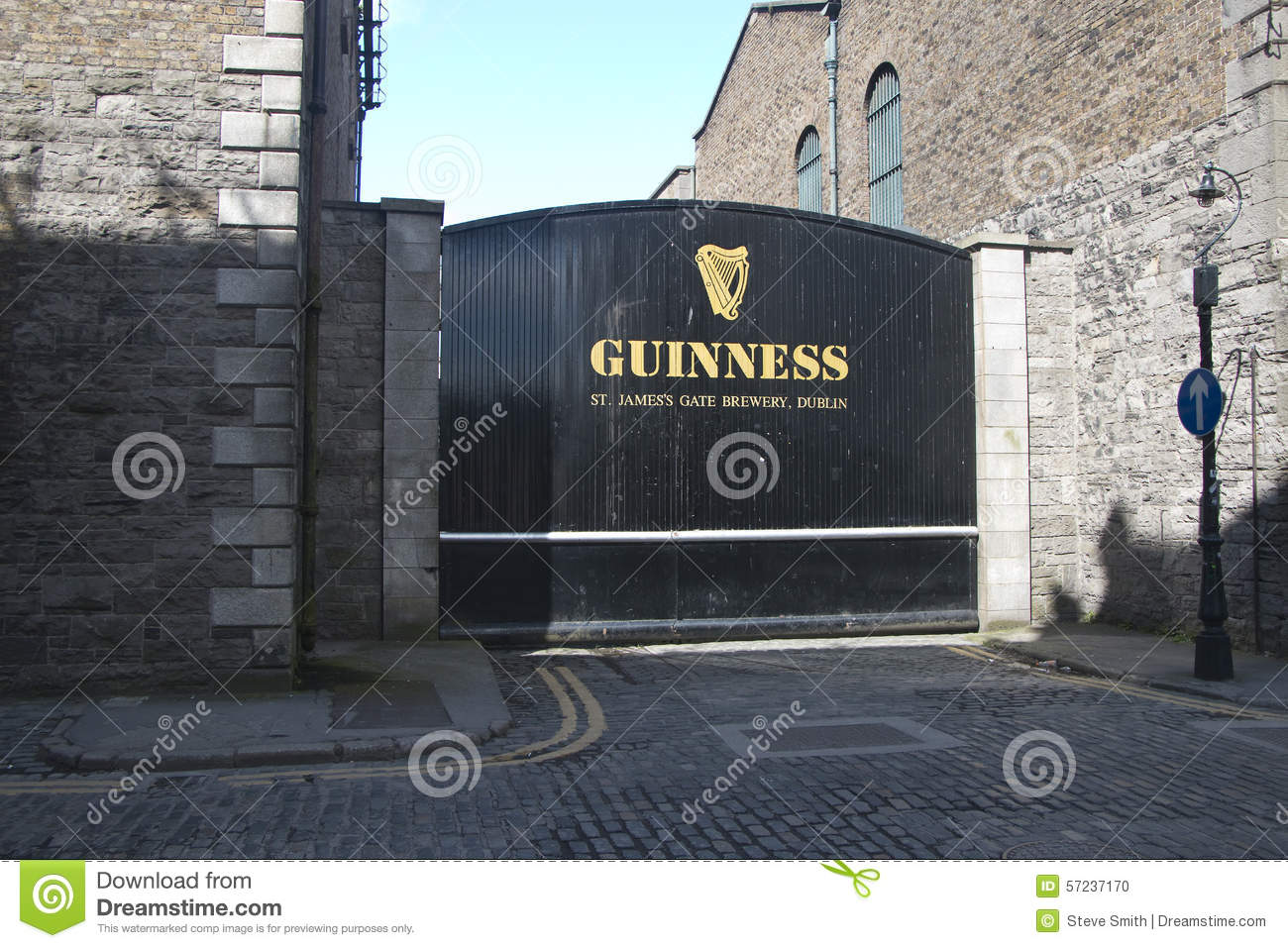 Guinness Brewery Dublin Editorial Image.