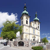 Stock Photography of Catholic Church of St. Johann Baptist, Hagnau.