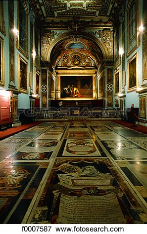 Picture of Malta, La Valette, St John cathedral, Caravaggio.