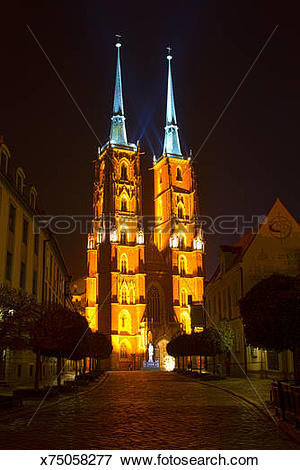 Picture of The Cathedral of St. John the Baptist in Wroc?aw.