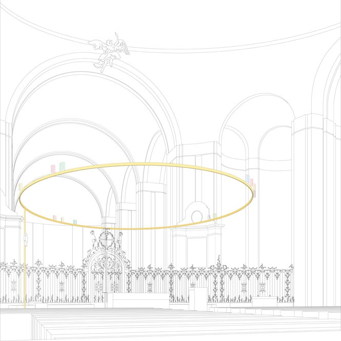 Sacred Space: Cathedral of St Gallen, Switzerland. Redesign of.