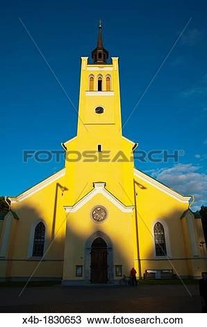 Stock Photo of Jaani Kirik the St John's church 1867 Vabaduse v.