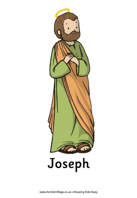 Adorable Printable St. Joseph PDF Poster.