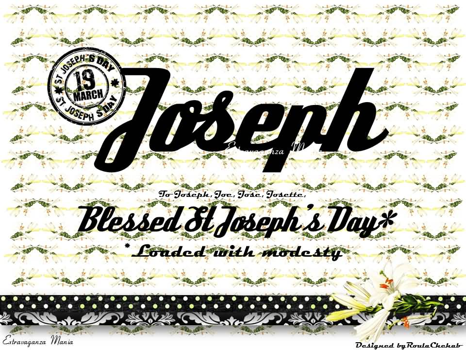 38 Most Wonderful Saint Joseph\'s Day Greeting Pictures.