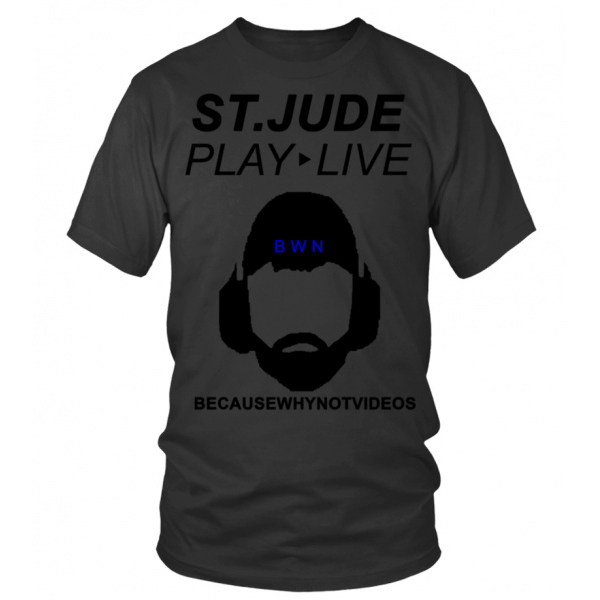 BWNV ST JUDE PLAY LIVE CHARITY SHIRT T S.
