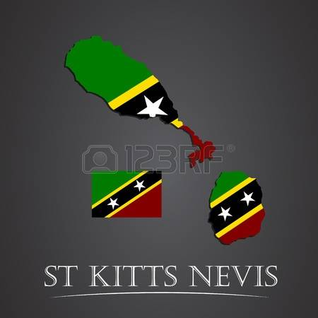 157 St Kitts Nevis Stock Vector Illustration And Royalty Free St.