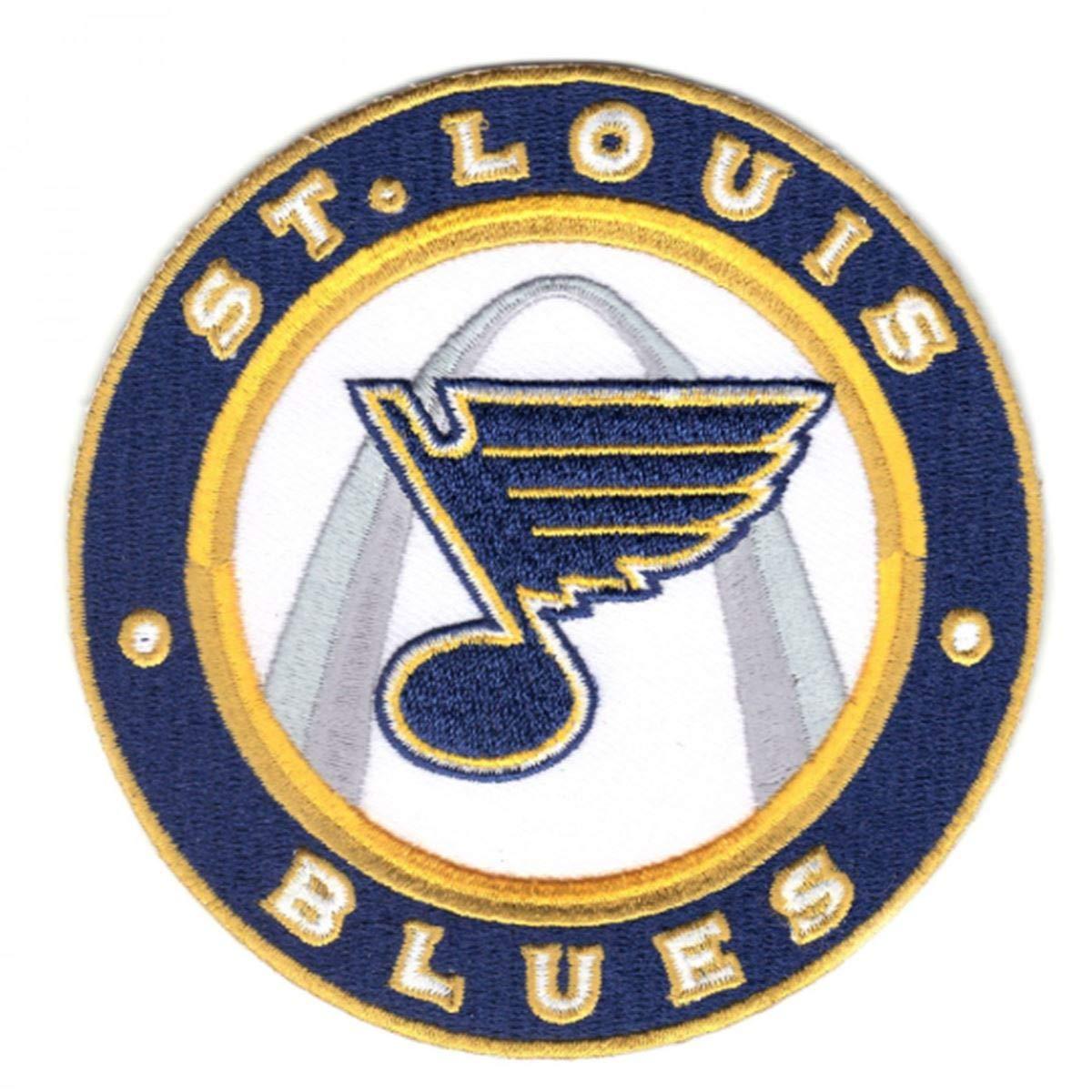 National Emblem St. Louis Blues Round Logo Collectors Patch.