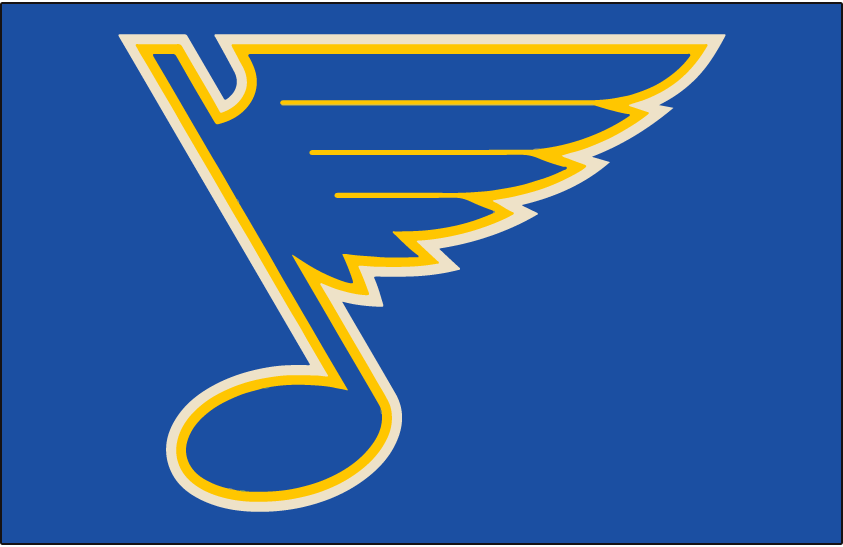 St. Louis Blues Jersey Logo.