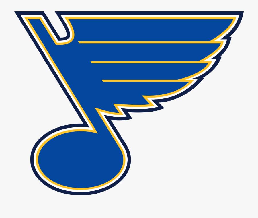 Blues Hockey Clipart.