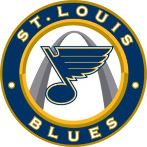 St Louis Blues logo, Vector Logo of St Louis Blues brand.