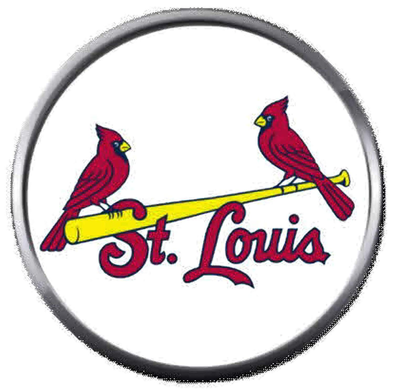Amazon.com: 2 St Louis Cardinals On Bat MLB Baseball Logo.