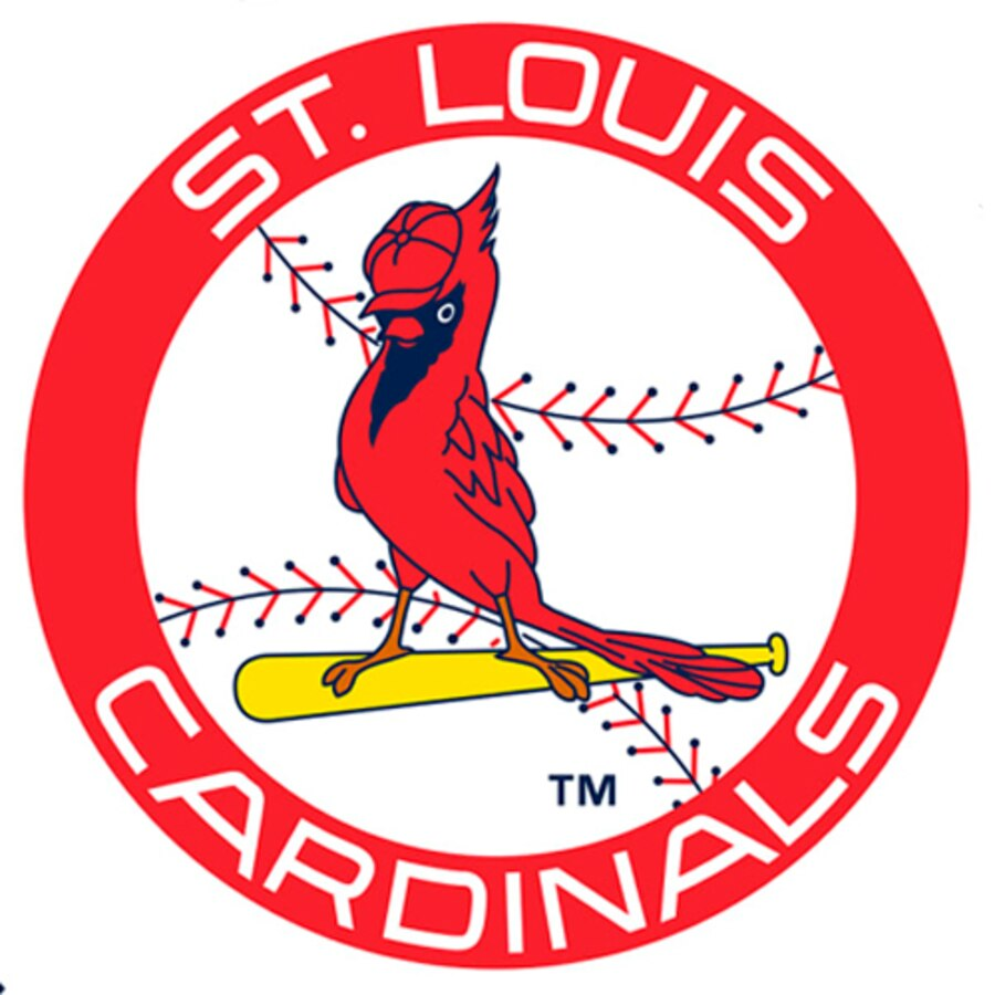 St. Louis Cardinals Fathead Logo Giant Removable Decal.
