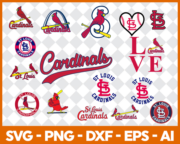 St. Louis Cardinals, St. Louis Cardinals svg, St. Louis Cardinals clipart,  St. Louis Cardinals logo.