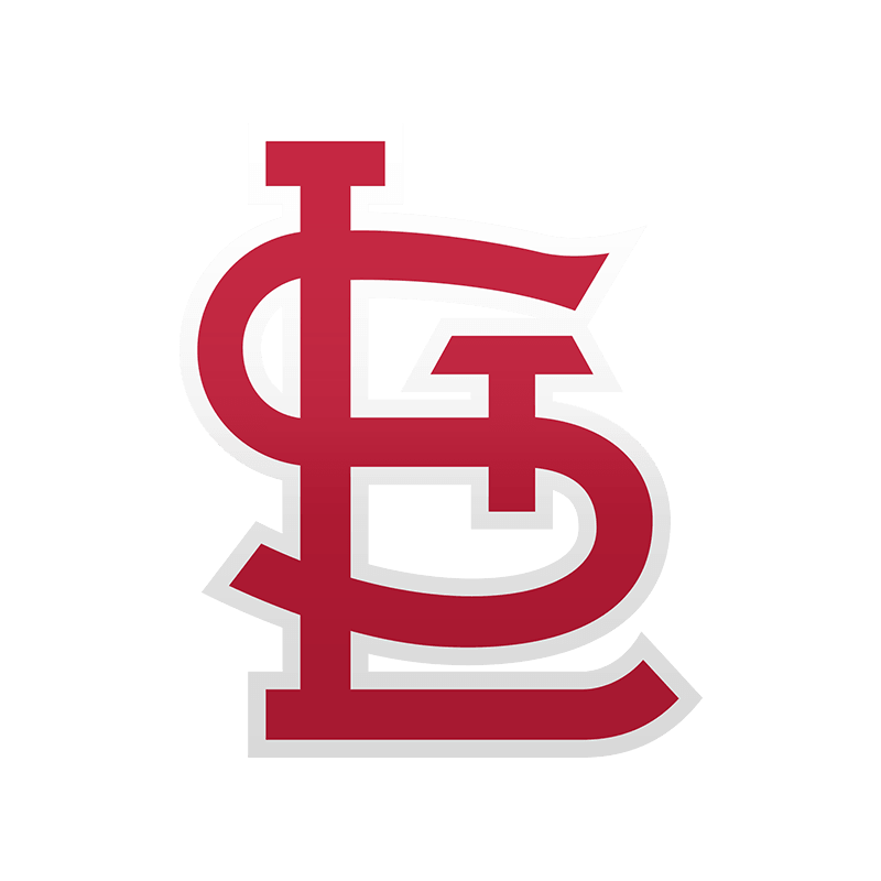 St. Louis Cardinals STL Logo transparent PNG.