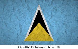 St lucia flag Clipart EPS Images. 23 st lucia flag clip art vector.