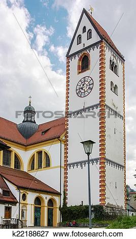 Picture of St. Mang Basilica, Fussen k22188627.