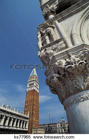 Stock Image of St. Marks Square, Venice, Italy ks77965.