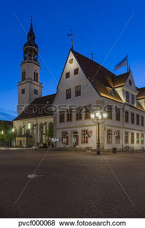 Pictures of Germany, Lower Saxony, Celle, St Mary's Church and Old.