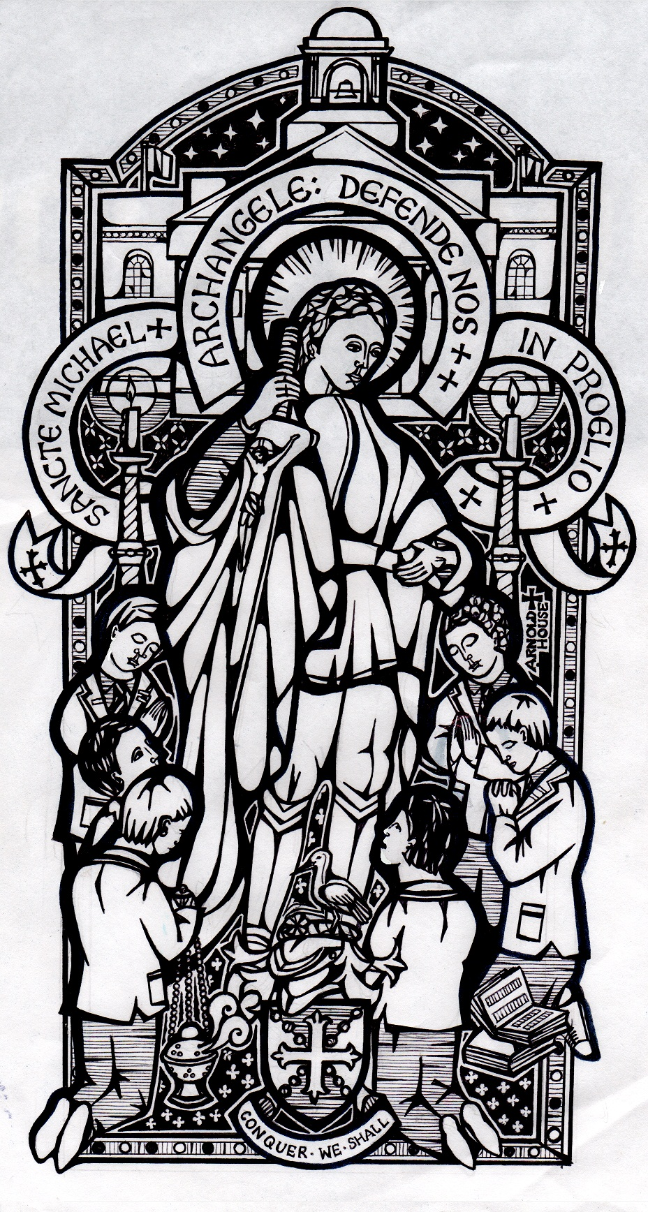 st michael clipart clipground