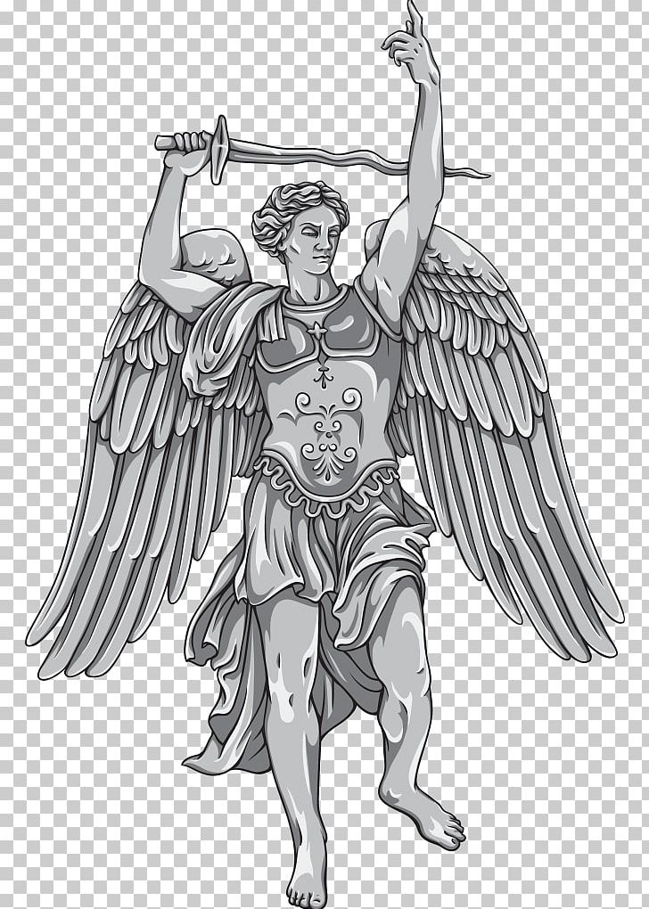Archangel Michael Saint Gabriel PNG, Clipart, Angel, Anthony.