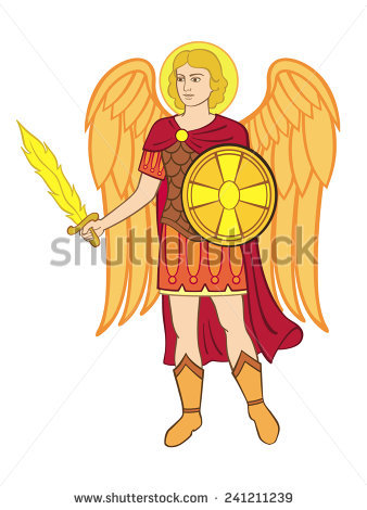 angel michael clipart - photo #7