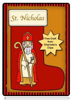 Free St. Nicholas Clipart from Charlotte's Clips Both Color and.