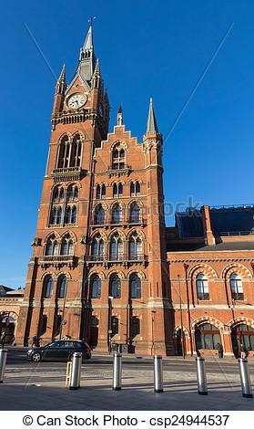 Stock Photos of St. Pancras Station.